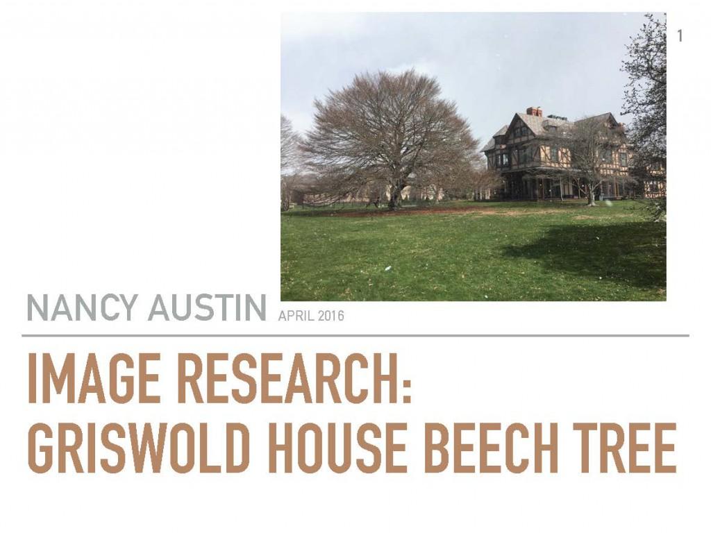 Original Beech Tree Research_Nancy Austin